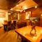 贅沢な空間と美味しさに酔いしれる半個室のセミプライベート席