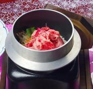 松阪牛の釜飯ご膳 ◆Lunch Menu & ◆Dinner Menu