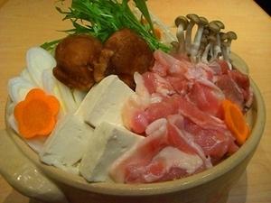 伊達鶏鍋(味噌仕立て)