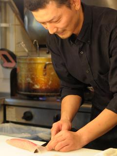 有名イタリアンで修業を積み、独自のイタリア料理を確立
