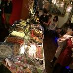 「おまかせパスタ・コース」は大皿中心でボリューム重視。宴会に