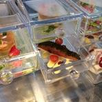 3500円(料理12品以上)二名様~会食、歓送迎会、家族会にもどうぞ。