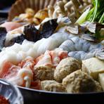2時間飲み放題とかとう特製甘辛鍋を含む自慢の逸品が楽しめる得なコースです。