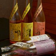 紀州の梅酒「ばばあの梅酒」全10種類。飲み比べても楽しい!また女性に人気のドリンクは、フレッシュ感が堪らない「生フルーツカクテル」。是非一度お試し下さい!