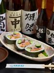 海鮮太巻寿司