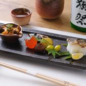 季節を感じられる、本格的な日本料理