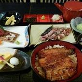 串焼きも充実の4本。名古屋名物ひつまぶしがメインの贅沢なコースです。※クーポン利用