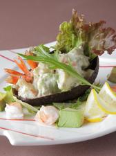 アボカドと海老のサラダ
