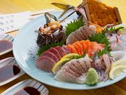 その日のおすすめの魚(4~5点盛り)