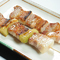 炭火焼 豚バラ串(1本250円)豚ねぎま串(1本250円)