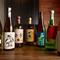 四種に分けられた、日本酒は、品揃えもとっても豊富