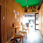 くつろげる和の空間。京都観光の合間に、ふらっと立ち寄れます