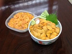 生ウニ丼 ※6月~8月は日本海近海の小樽産雲丹を使用!
