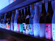 50種以上の焼酎・日本酒