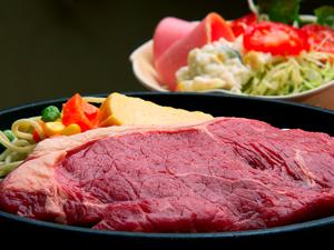 ディナー牛ステーキ定食