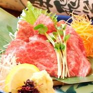 肉質5等級の飛騨牛は「さし」(脂身)が細かいのが特徴です。