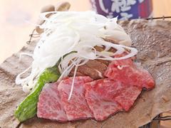岐阜の食材・料理のみを提供いたします。 夏季漁期には「吉田川の郡上鮎」もお付けすることもできます。