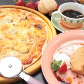 トレビセット お好きなピザお好きなデザート、ドリンク
