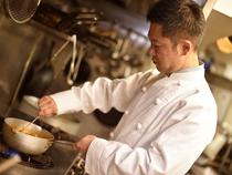 卓越した匠の技を結集し、手間ひまの結晶こそが「料理」