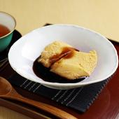 自家製豆乳わらび餅(黒蜜又は抹茶)