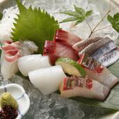瀬戸内海から直送している鮮魚