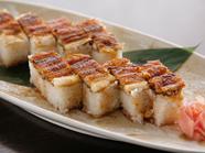 焼き穴子の押し寿司
