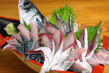 人気No.1のメニュー『鯖の刺身』