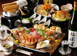 仙台ならではの「旬」を味わえる。コースです。飲み放題も付いて楽しめます。