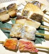 お魚串焼き