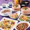 女子会やお食事会にぴったりのコース料理。エビマヨや麻婆豆腐など定番料理がお得に楽しめます!