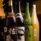 お酒も様々なものをご用意しています。