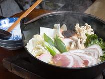 いのしし料理【猪味噌鍋】