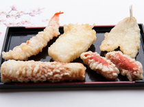 天ぷら 単品各種(各100円)