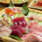 北谷の漁港から直接仕入れている魚介類は、 沖縄ならではの種類も多く、朝あがったばかりの新鮮な食材を提供しています。 季節の到来を感じる海の美味を、お刺身やバター焼きなどでぜひ味わってみてください。