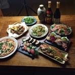 大将おまかせの料理8品+飲み放題付き 鍋プランなども相談に応じます。 3,000円~5,000円 お気軽にお問い合わせ下さい!