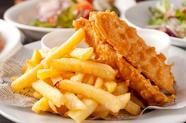 旬の鮮魚!フィッシュ&チップス