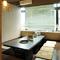 9名様用の個室も3室ございます。ご家族での食事にも最適。