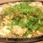 ホルモンバター野菜炒め