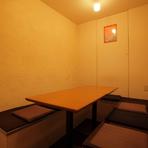 外苑前 接待や宴会に最適な個室もあります。