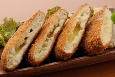 一番人気! とうふチーズメンチカツ