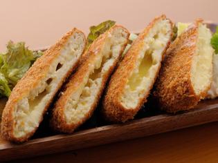 1番人気の『とうふチーズメンチカツ』