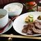 国産テールのスープもついた『牛たん炭火焼定食』