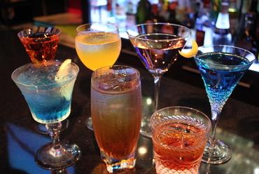 様々な種類のお酒をご用意しております