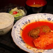 (味噌汁+サラダ+小鉢)