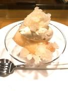 酒井さんの桃のスパイスコンポート ホワイトチョコレアチーズ
