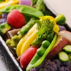 春野菜をたっぷり召し上がれ♪