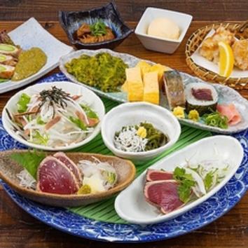 【鍋あり味わい】八金地鶏の柚子塩鍋と亀次味わいコース