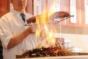 ・秋刀魚造り:980円 ・松茸にぎり:480円 ・松茸土瓶蒸し:1800円 ・松茸天麩羅:1800円 ・松茸焼き:1800円