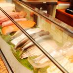 使用する魚介類はその朝獲れた高知近海のもの!
