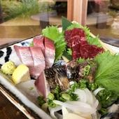 高知のお魚も日替わりでお出ししております